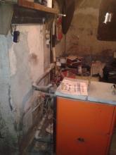 Bytový dům - kotel původního vytápění