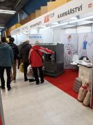DOMUSA BioClass HM 25 ve vstupní hale výstaviště